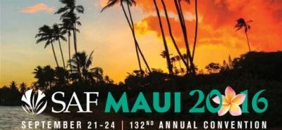 INVOS FLOWERS participate in the SAF  annual convention in Maui , September 2016